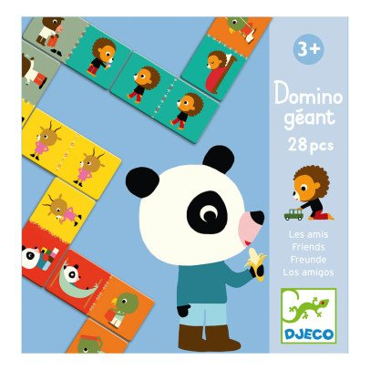 Djeco Giant Friends Dominos - 28 Pieces-listing