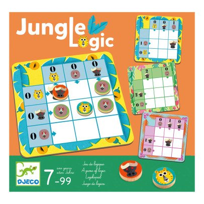 Djeco Jeu de tactique Jungle Logic-listing