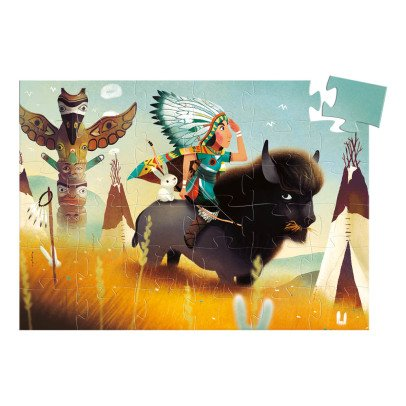 Djeco Tatanka Indian Puzzle - 36 Pieces-listing