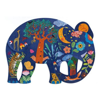 Djeco Elephant Puzzle - 150 Pieces-product