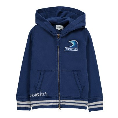 Hartford Surfin Zipped Hoodie-listing