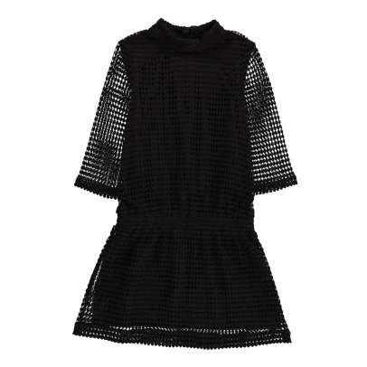 Little Remix Cutwork Cotton Dress-listing