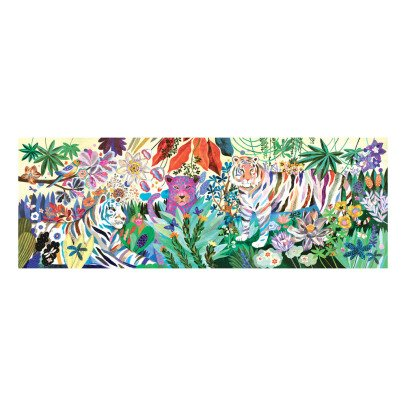 Djeco Giant Rainbow Tigers Puzzle - 1000 Pieces-listing