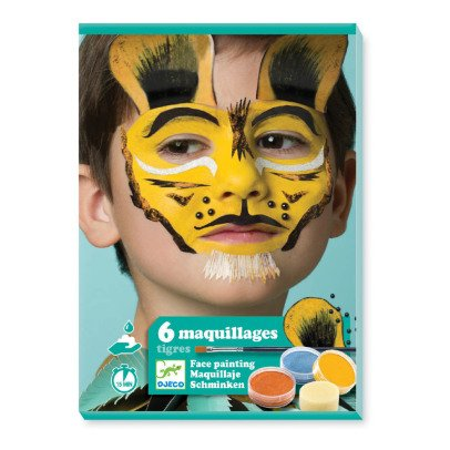 Djeco Tiger Face Paint - Set of 6-listing