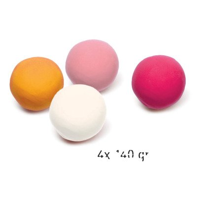 Djeco Sweet Modelling Clay - Set of 4-listing
