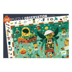 product-Djeco Puzzle Crazy Lab- 200-teilig