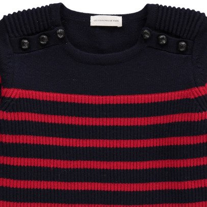 Les Coyotes de Paris Abby Striped Sailor Jumper-listing