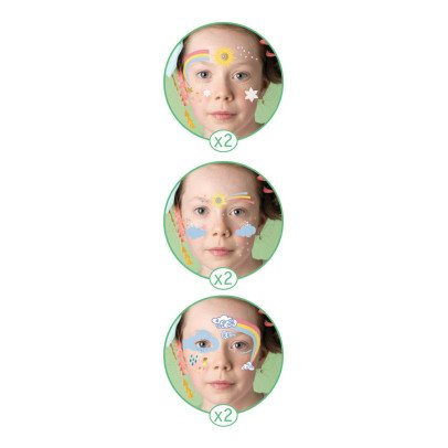 Djeco Rainbow Face Paint - Set of 6-listing