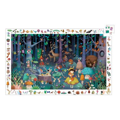 Djeco Enchanted Forest Puzzle - 100 Pieces-listing