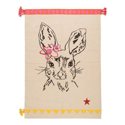 Varanassi Clapin Cotton Rug - Rabbit-listing
