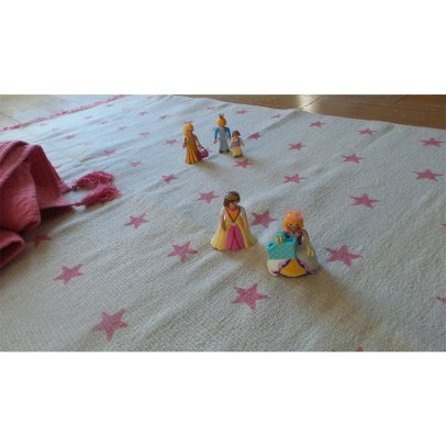 Varanassi Pop Cotton Rug - Stars-listing