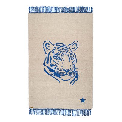 Varanassi Pop Cotton Rug - Tiger-listing