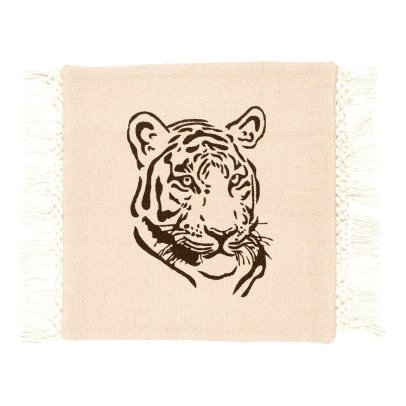 Varanassi Gypsy Cotton Cushion - Tiger-listing