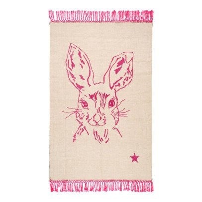 Varanassi Pop Cotton Rug - Rabbit-listing