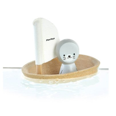 Plan Toys Baby Seal Floating Boat-listing