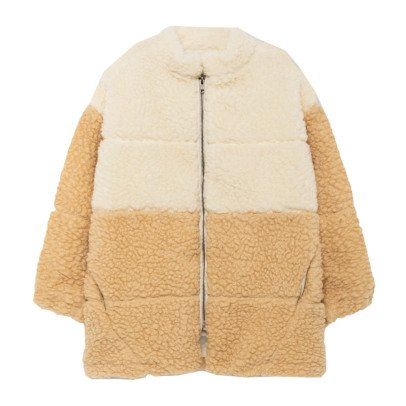 The Animals Observatory Panda Faux Fur Coat-listing