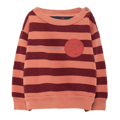 The Animals Observatory Bear Striped Sweatshirt-listing