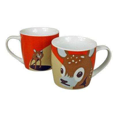 The Zoo Soraida Janga Ceramic Fawn Mug-listing