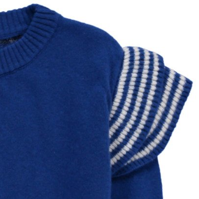 Bobo Choses Ruffled Wool Jumper-listing