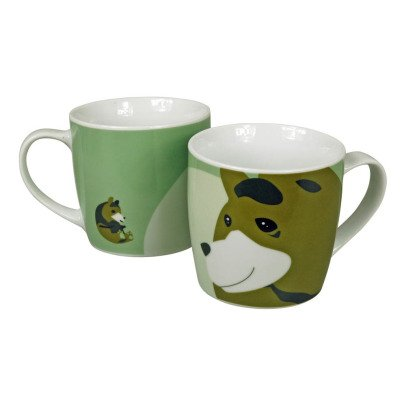 The Zoo Soraida Janga Ceramic Brown Bear Mug-listing