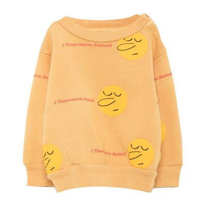 The Animals Observatory Bear Sunny Face Sweatshirt-listing