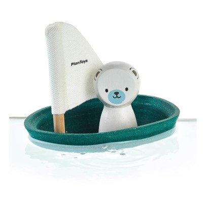 Barca Orso Polare galleggiante