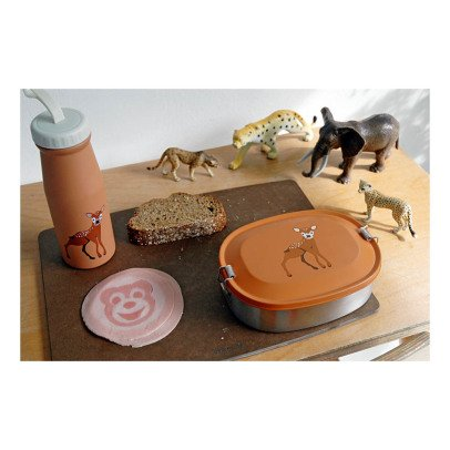 The Zoo Lunch box in acciaio inossidabile cerbiatto, Maureen Van Der Hout-listing
