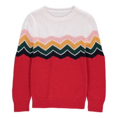 Hundred Pieces Pullover Zigzag -listing