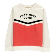 product-Hundred Pieces Snow Must Go On Sweatshirt