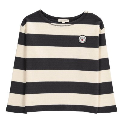 Hundred Pieces Le Club Striped T-Shirt-listing