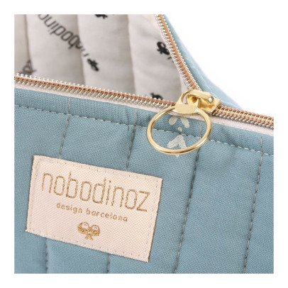 Nobodinoz Holiday Secrets Organic Cotton Toiletry Bag-listing