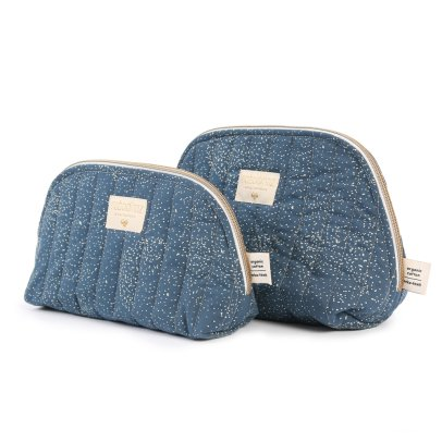 Nobodinoz Holiday Bubble Organic Cotton Toiletry Bag-listing