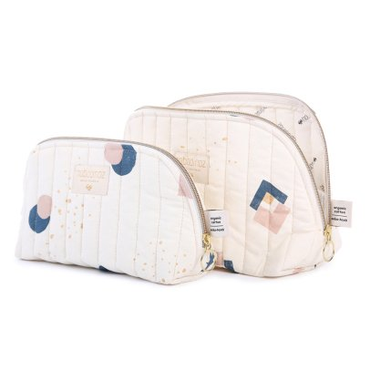 Nobodinoz Holiday Eclipse Organic Cotton Toiletry Bag-listing