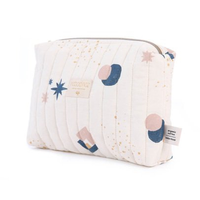Nobodinoz Eclipse Organic Cotton Toiletry Bag-listing