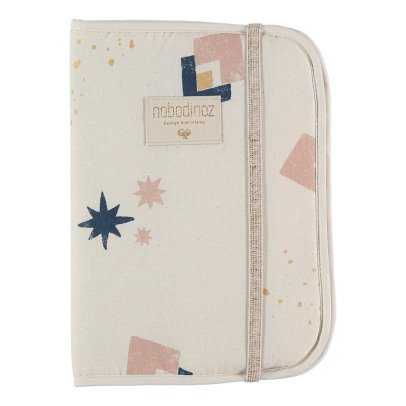 Nobodinoz Poema Eclipse Organic Cotton Health Book Cover-product