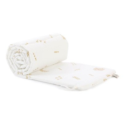 Nobodinoz Nest Secrets Organic Cotton Bed Bumper-listing
