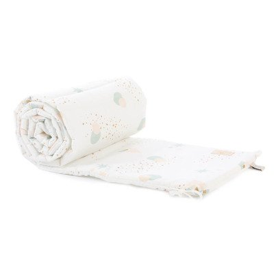 Nobodinoz Nest Eclipse Organic Cotton Bed Bumper-listing