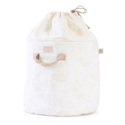 Wäschekorb Bamboo Bubble aus Baumwolle