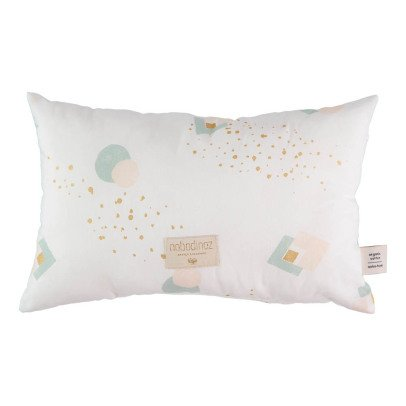 Nobodinoz Coussin Laurel Eclipse en coton organique 22x35 cm-product