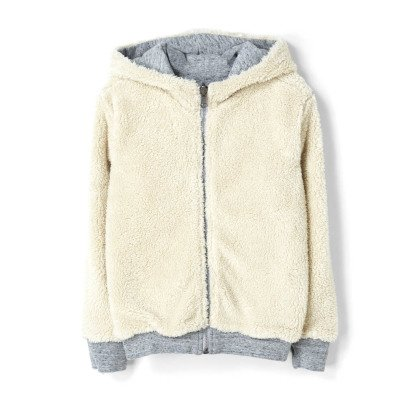 Finger in the nose Hooper Fur Lined Reversible Hoodie-listing