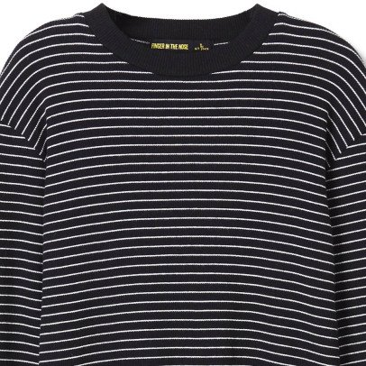 Finger in the nose Nico Striped T-Shirt-listing
