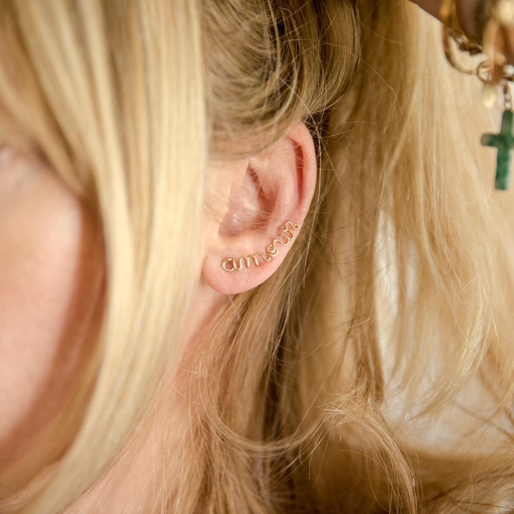 Left Ear Lets Rock Rock Ear Cuff Atelier Paulin 386KCdWn