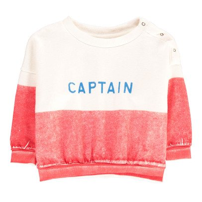 Bobo Choses Organic Cotton Captain Sweatshirt-listing