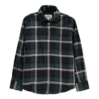 Hartford Paul Tartan Flannel Shirt-product