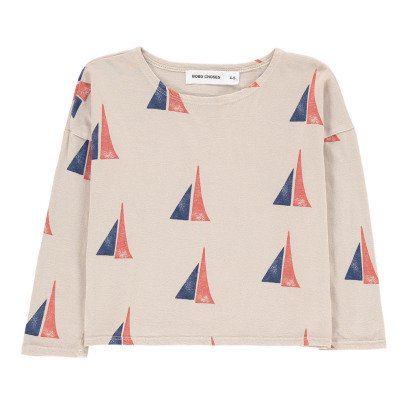 Bobo Choses Organic Cotton Boat T-Shirt-listing