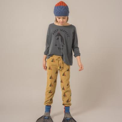 Bobo Choses Organic Cotton Boat Jogging Bottoms-listing