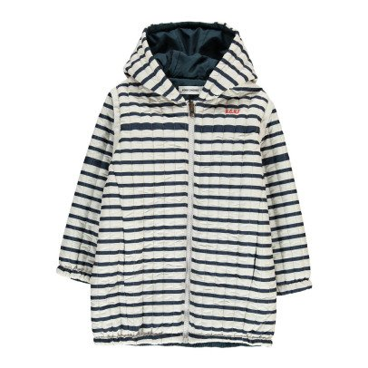 Bobo Choses Removable Sleeve Rerversible Quilted Coat-listing
