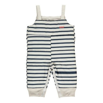 Bobo Choses Striped Waterproof Dungarees-listing