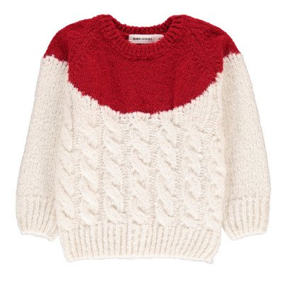 Bobo Choses Cable Knit Wool Jumper-listing