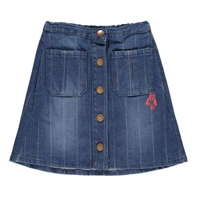 Bobo Choses Button Denim Skirt-product